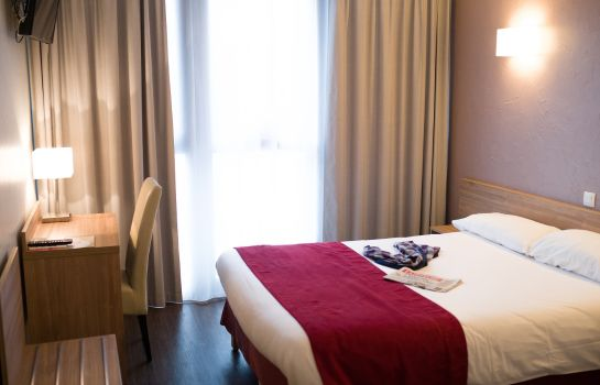 Chambre individuelle (standard) INTER-HOTEL Toulouse Sud Le Sextant