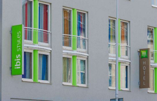 Exterior view ibis Styles Hotel Aachen City