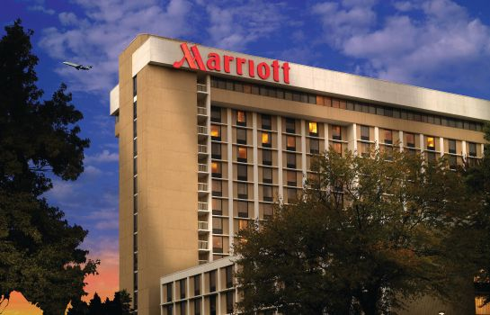 Exterior view Atlanta Airport Marriott