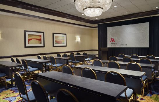 Conference room Atlanta Airport Marriott