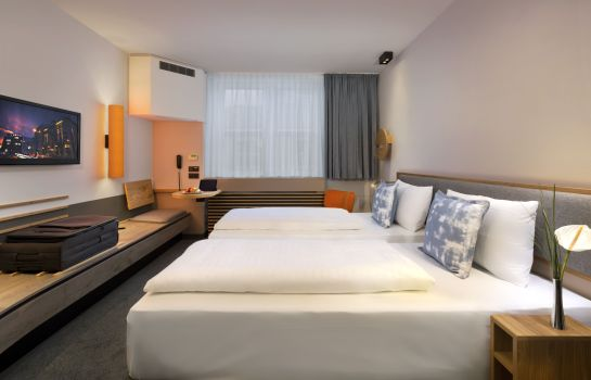 Chambre double (standard) Fleming's Express Hotel Frankfurt