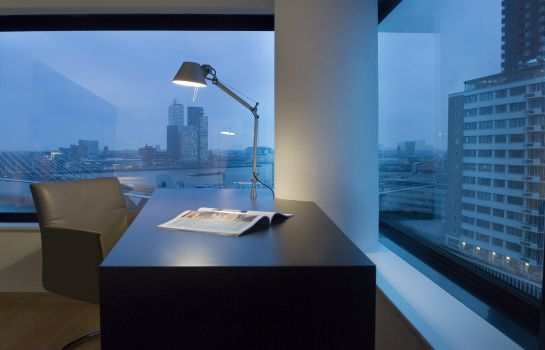 Vista all'interno Inntel Hotels Rotterdam Centre