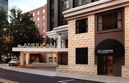 Exterior view The American Hotel Atlanta Downtown - a DoubleTree by Hilton
