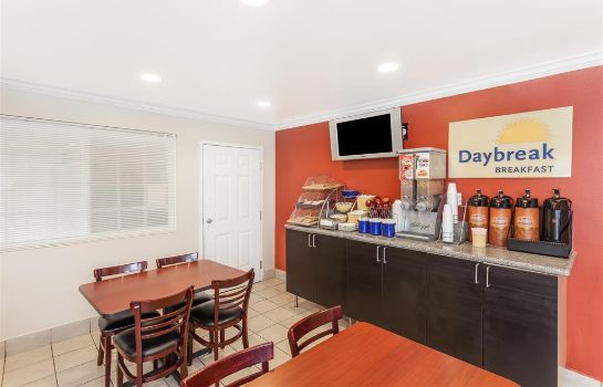 Restaurant Days Inn Anaheim Near Convention Center