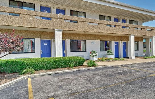 Vista exterior MOTEL 6 CHICAGO WEST - VILLA PARK