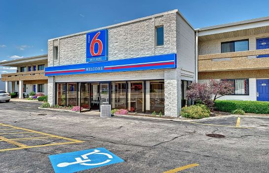 Vista esterna MOTEL 6 CHICAGO WEST - VILLA PARK