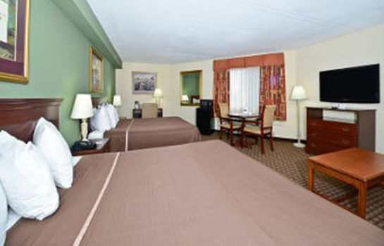 Zimmer HOWARD JOHNSON HOTEL - NEWARK