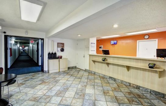 Hall de l'hôtel MOTEL 6 GREENSBORO AIRPORT
