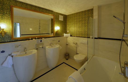 Bagno in camera Ludwig Royal Golf & Alpin Wellness Resort