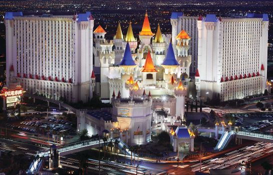 Exterior view MGM Excalibur Hotel and Casino