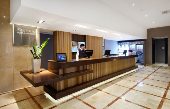 Empfang Occidental Praha - part of Barcelo Hotel Group