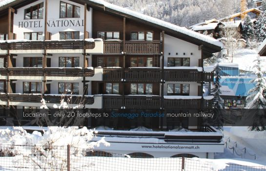 Hotelhalle Hotel National Zermatt Superior