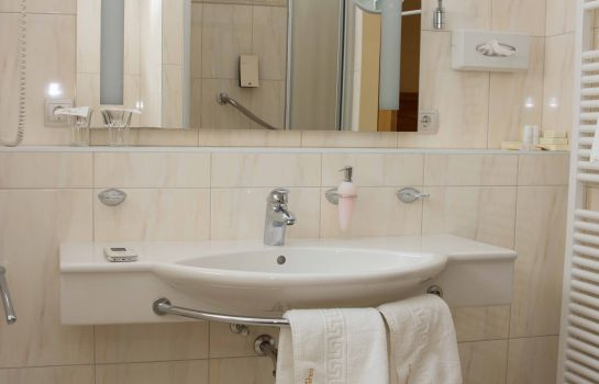 Bagno in camera Boutique Hotel Goldenes Lamm ***S