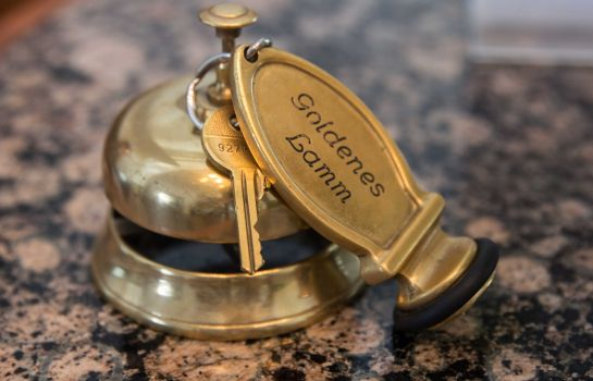 Reception Boutique Hotel Goldenes Lamm ***S