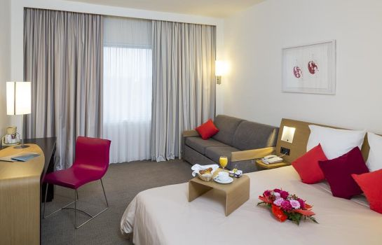 Single room (superior) Novotel Moscow Sheremetyevo Airport