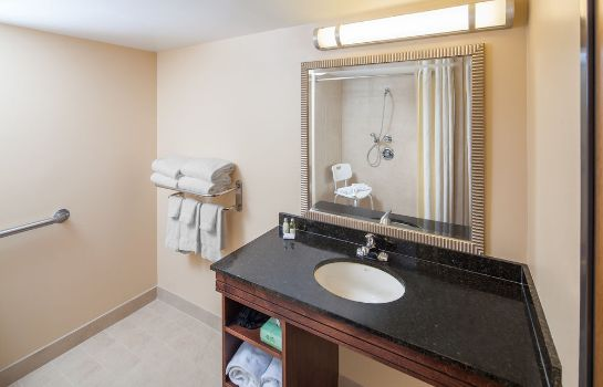 Badezimmer Kahler Inn and Suites - Mayo Clinic Area