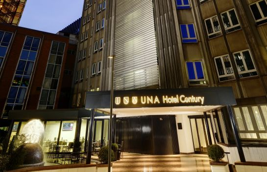 Exterior view UNAHOTELS Century Milano