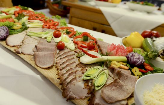 Cucina dell'hotel Hunguest Hotel Heiligenblut
