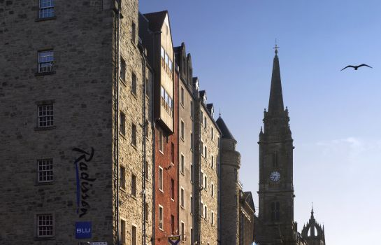 Außenansicht RADISSON BLU EDINBURGH CITY CENTRE