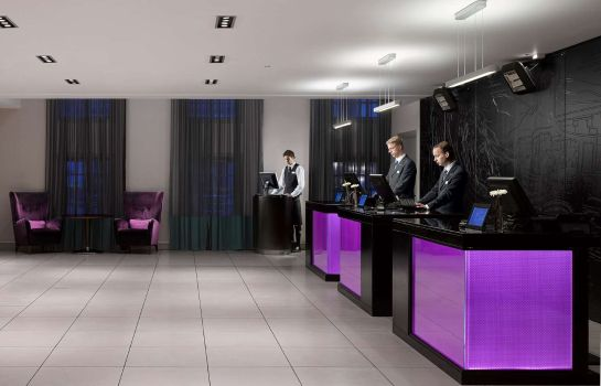 Hotelhalle RADISSON BLU EDINBURGH CITY CENTRE