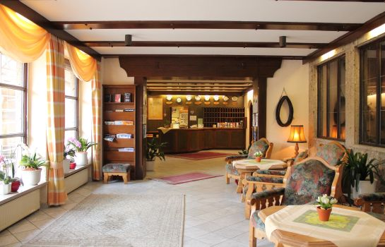 Hall de l'hôtel Seimler Alpensport-Hotel