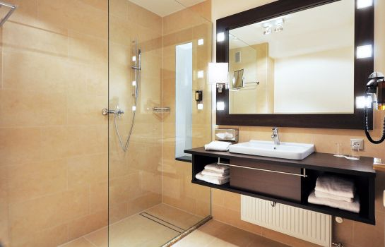 Bagno in camera Wellings Parkhotel