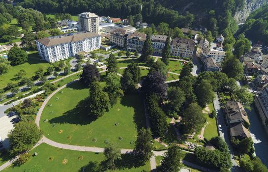 Außenansicht Grand Resort Bad Ragaz