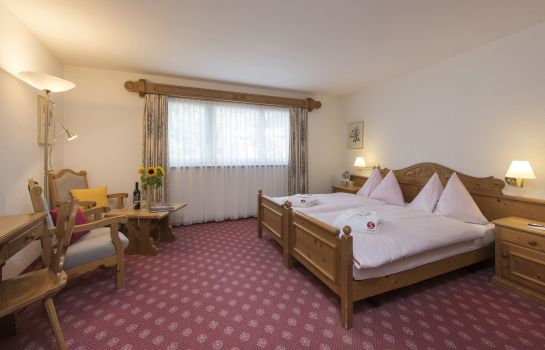 Chambre double (standard) Sunstar Boutique Hotel Albeina Klosters