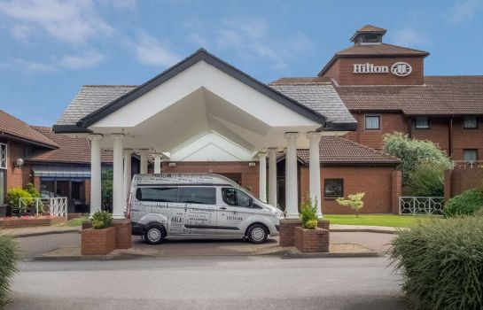 Exterior view Hilton East Midlands Airport
