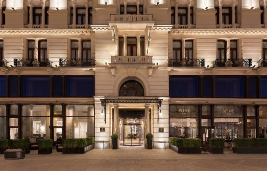 Exterior view Hotel Bristol a Luxury Collection Hotel Warsaw
