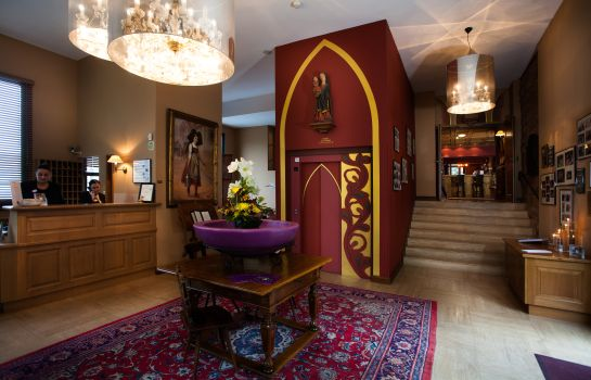 Empfang Les Violettes Hotel & SPA Alsace BW Premier Collection®