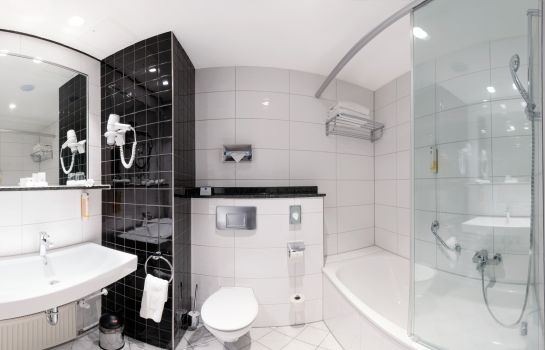 Bagno in camera Best Western Plus Palatin Kongresshotel