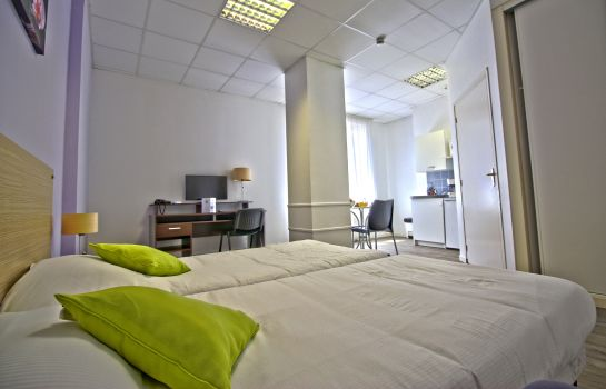 Doppelzimmer Standard Appart'Hotel Macon Le Cours Moreau