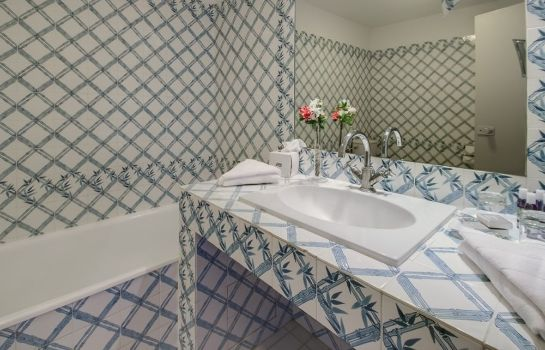 Bagno in camera Hotel Les Agassins