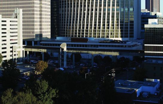 Exterior view Atlanta Marriott Marquis