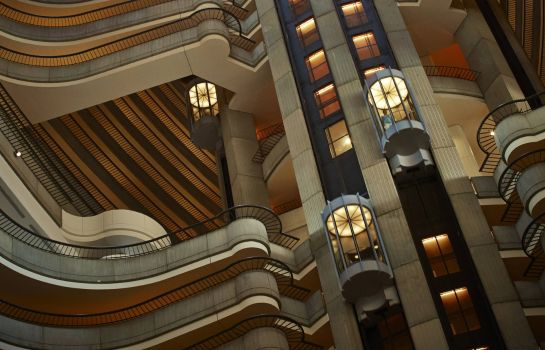 Hall de l'hôtel Atlanta Marriott Marquis
