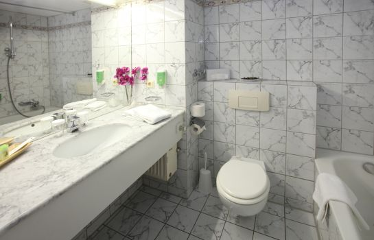 Bagno in camera Novostar First Class Garni