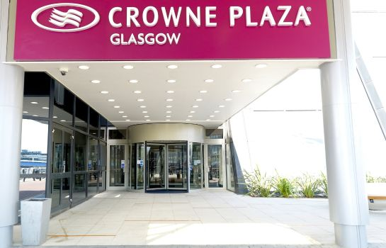 Exterior view Crowne Plaza GLASGOW
