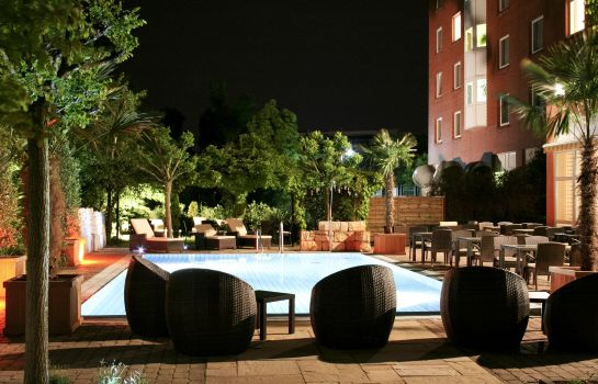 Terrasse Mercure Hotel Hannover Medical Park