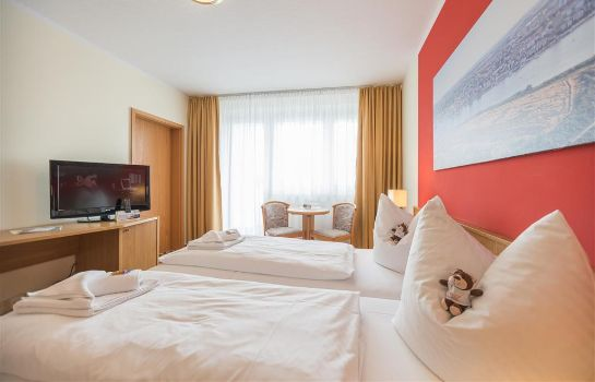 Chambre double (standard) Hotel an der Stadthalle Rostock
