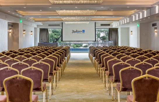 Meeting room Radisson Blu Park Hotel Athens
