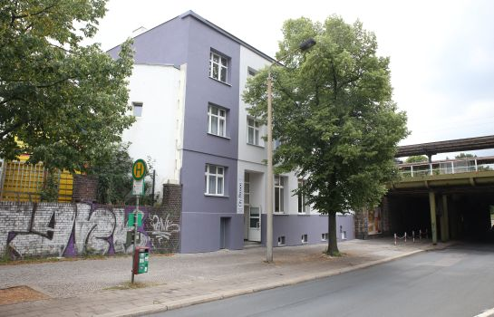 Exterior view City Pension Magdeburg