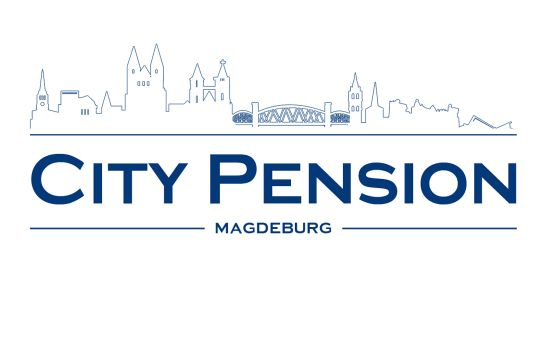 Certificate/Logo City Pension Magdeburg