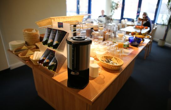 Breakfast buffet City Pension Magdeburg