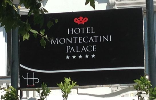 Exterior view Montecatini Palace Hotel