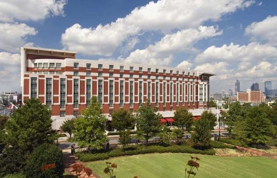 Exterior view Embassy Suites by Hilton Atlanta Centennial Olympic Park