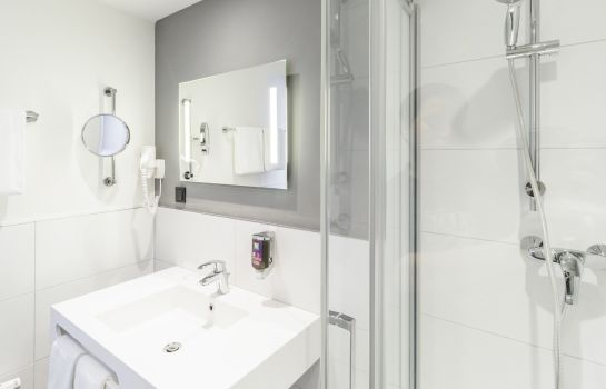 Bagno in camera ibis Styles Halle