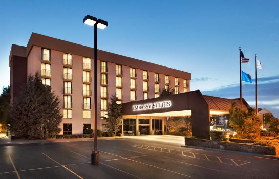 Buitenaanzicht Embassy Suites by Hilton Oklahoma City Will Rogers Airport