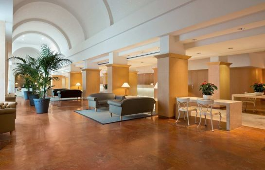 Hotelhalle Hilton Rome Airport