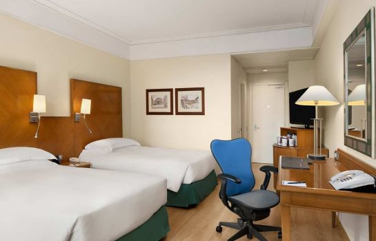 Zimmer Hilton Rome Airport